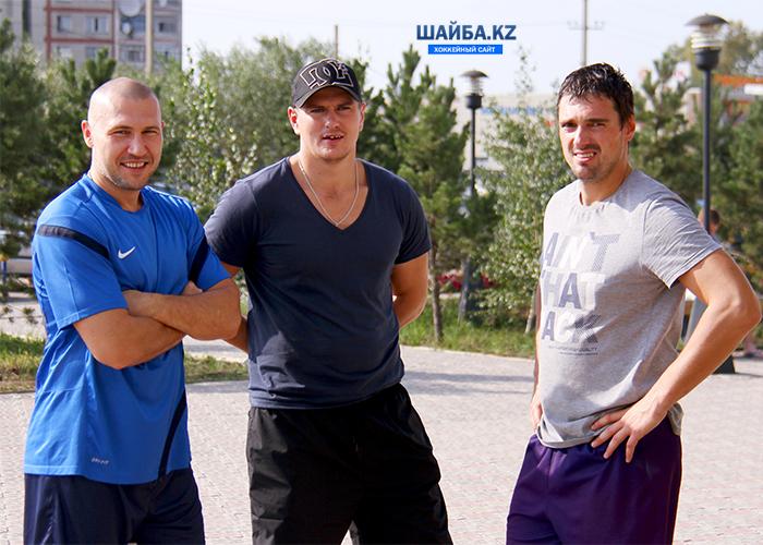 Александр Долишня, Игорь Захаров и Денис Козырев