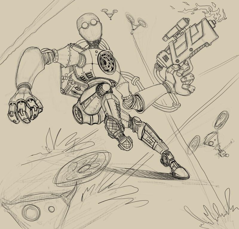 робот бробот