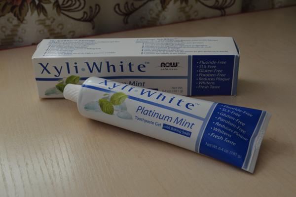 xyli зубная паста iherb