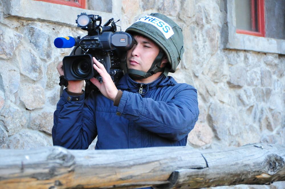 ниндзя, специфика работы военного фото журналиста поблагодарила