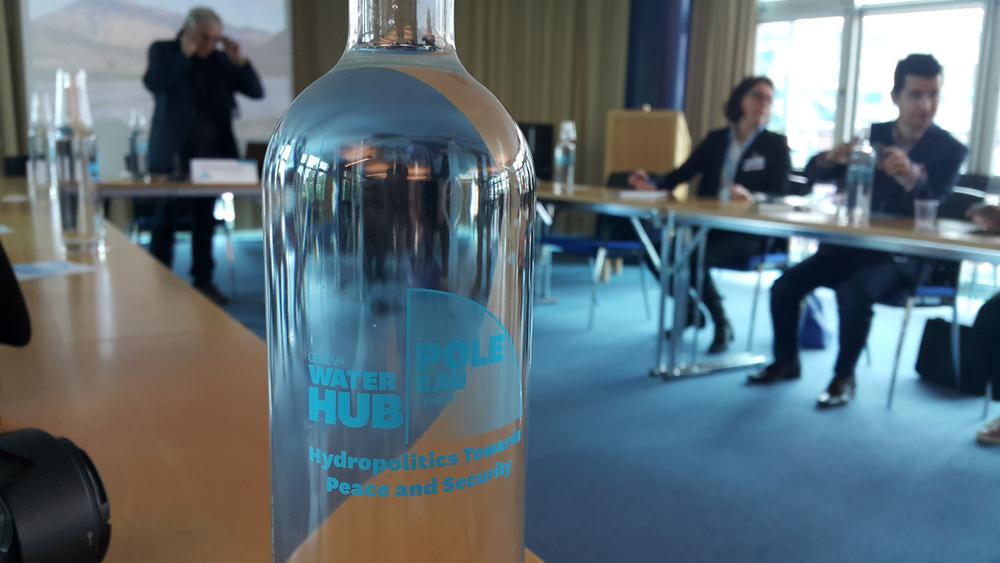 Фото Рустама Ниязова: медиа-делегация в гостях у Geneva Water Hub