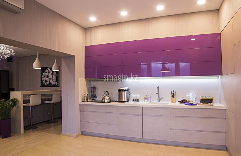 мастику кухня фиолетовый низ белый верх фото меня