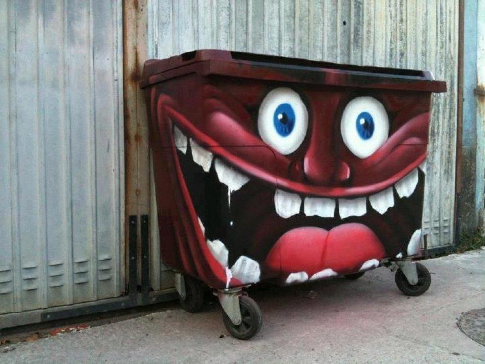 Прикольные картинки для мусорки