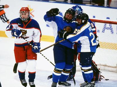 Женская сборная Казахстана на Олимпиаде в Солт-Лейк Сити