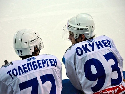 Емсуханбет Толепберген и Антон Окунев