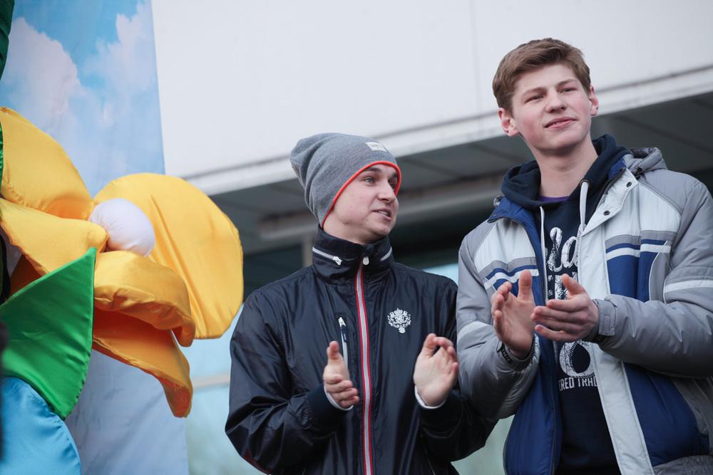 Андрея Янков и Сергей Кудрявцев