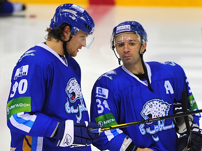 Николай Антропов и Константин Руденко