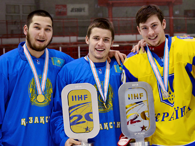 Дамир Рыспаев, Степан Александров и Кирилл Бондаренко