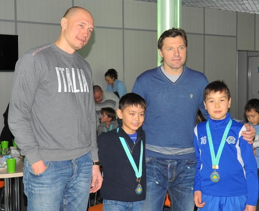 Алексей Литвиненко и Виталий Еремеев