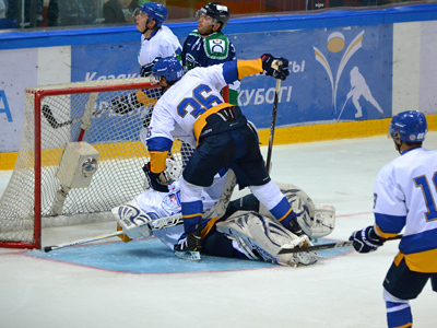 Победа Казцинк-Торпедо над Югрой