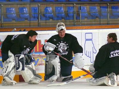 Павел Житков, Александр Бызов и Сергей Огурешников