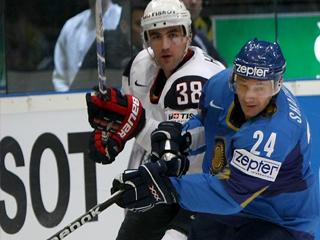 Константин Шафранов в матче Казахстан - США