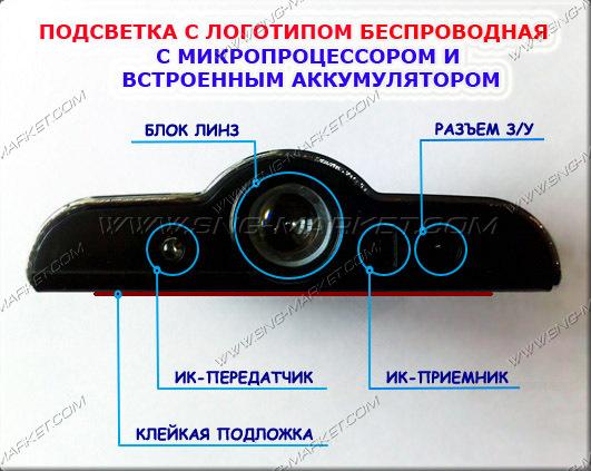 Фонарики проекторы в двери тойота