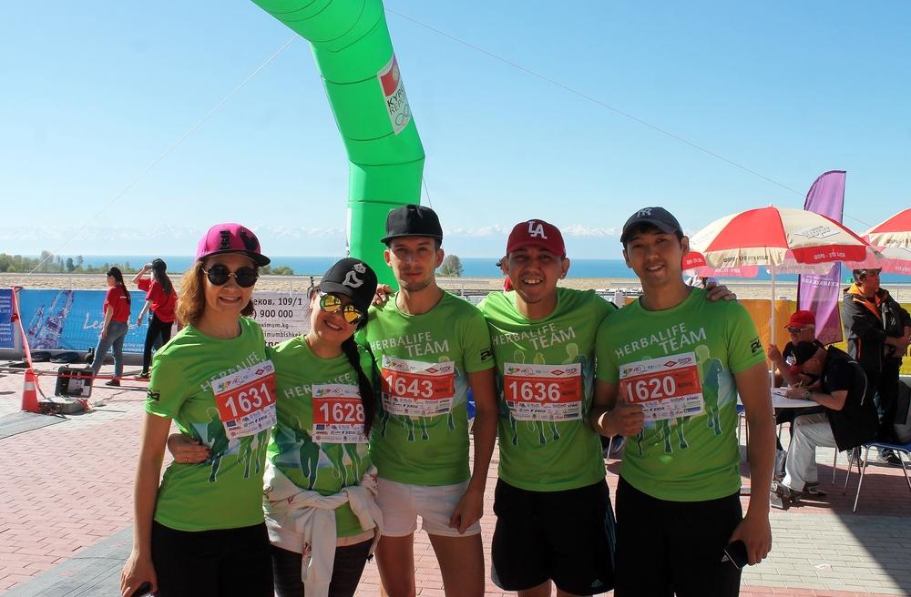 6-й марафон «Run the Silk Road» 2017 вместе с Командой Herbalife