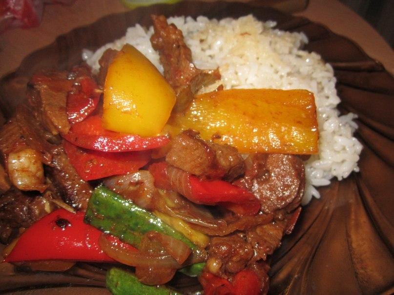 Свинина по китайски пошаговый рецепт