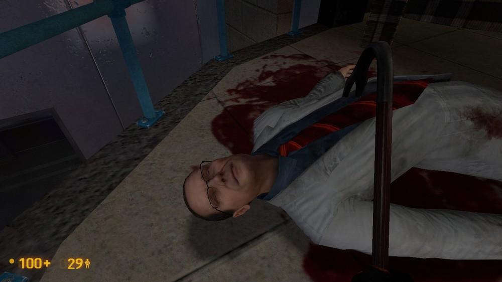 Мертвый ученый