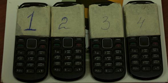 4 телефона