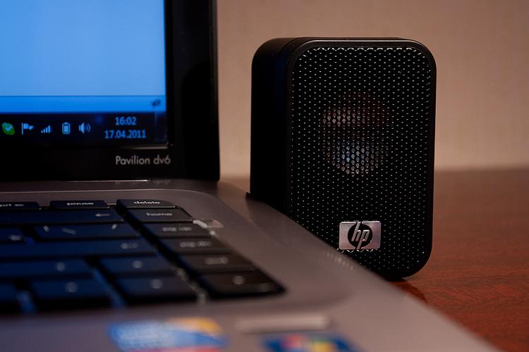 HP Mini USB Powered Speakers